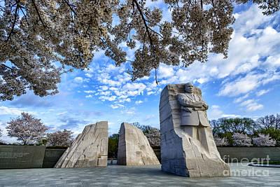 Martin Luther King Jr Memorial Art Print by Thomas R Fletcher