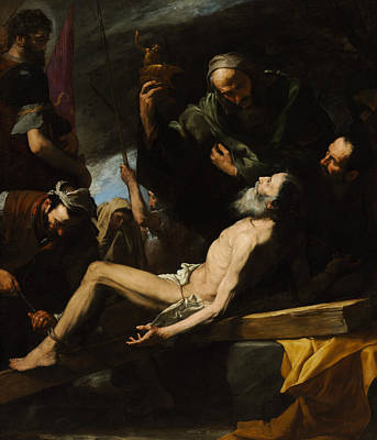 Painting - Martyrdom Of Saint Andrew by Jusepe de Ribera