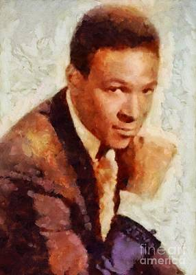 Music Royalty-Free and Rights-Managed Images - Marvin Gaye, Music Legend by Sarah Kirk