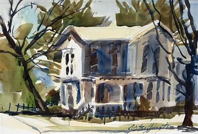 Mary Eck's House  Art Print