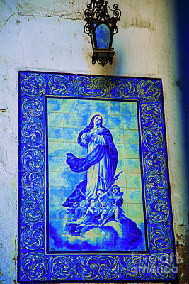 Photograph - Mary In Blue by Rick Bragan