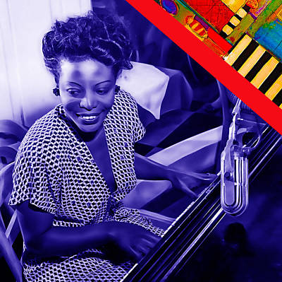 Swing Mixed Media - Mary Lou Williams Collection by Marvin Blaine