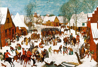 Painting - Massacre Of The Innocents by Pieter Bruegel the Elder