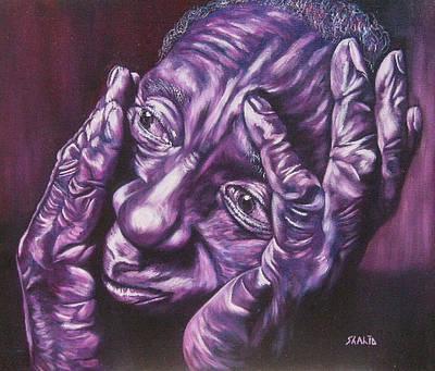 Masseur Art Print by Shahid Muqaddim