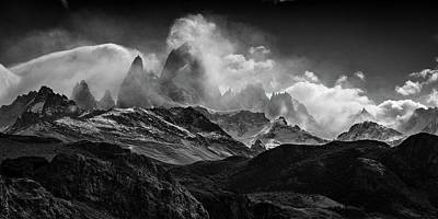 Photograph - Massif by Ryan Weddle