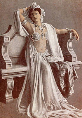 First Star Photograph - Mata Hari by French School