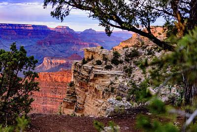 Mather Point Sunset - Grand Canyon - Arizona Art Print by Jon Berghoff
