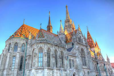 Photograph - Mathias Church Budapest by David Pyatt