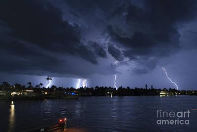 Lightning Photograph - Matlatcha Nights by Quinn Sedam