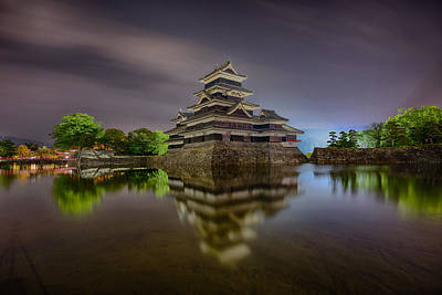Photograph - Matsumoto Castle by Jonah  Anderson