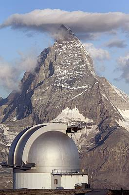 Photograph - Matterhorn And Observatory by Duncan Shaw