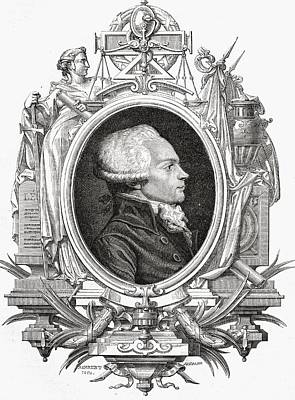 French Leaders Drawing - Maximilien Robespierre, 1758-1794 by Vintage Design Pics