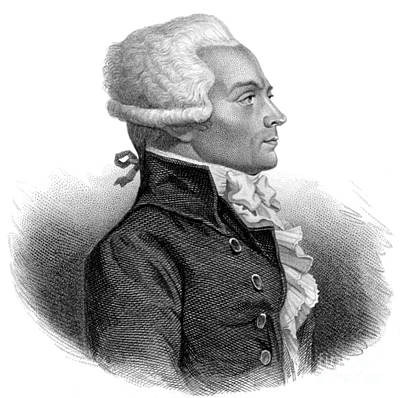 Maximilien Robespierre, French Art Print
