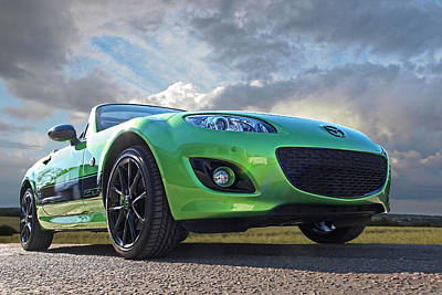 Photograph - Mazda Mx-5 Sport Black by Gill Billington