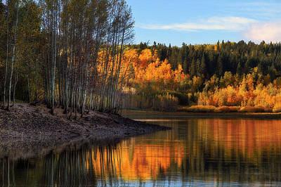 Photograph - Mcclellan Lake by Utah Images