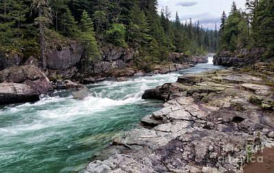 Photograph - Mcdonald Creek by Art Cole