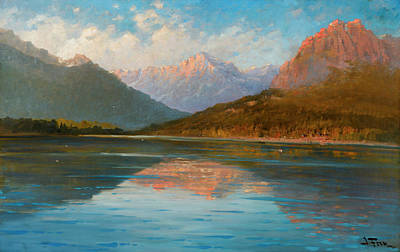 Yosemite Valley Painting - Mcdonald by John Fery