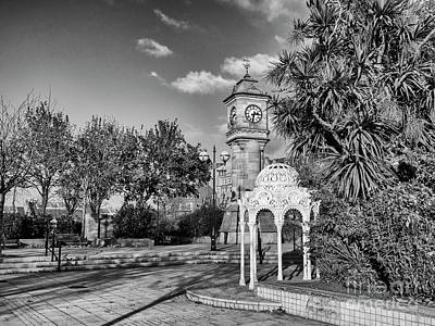Photograph - Mckee Clock And Sunken Gardens by Jim Orr