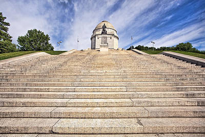 Architectural Photograph - Mckinley Monument by Marcia Colelli