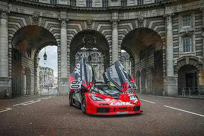 Photograph - Mclaren F1 Gtr In London by George Williams