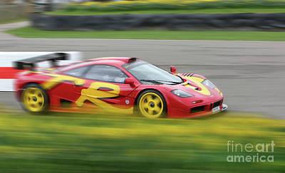 Photograph - Mclaren F1 Gtr by Roger Lighterness
