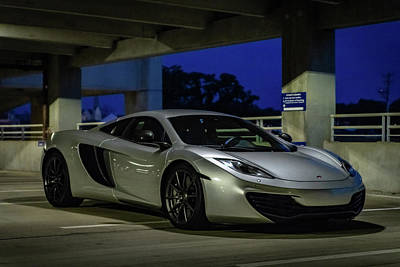Photograph - Mclaren Mp4-12c Three Quarter View by Randy Scherkenbach