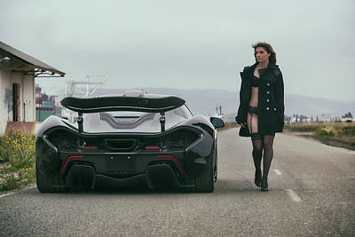 Photograph - #mclaren #p1 And #kyrstannie by ItzKirb Photography
