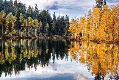 Photograph - Mclellan Lake by Douglas Pulsipher