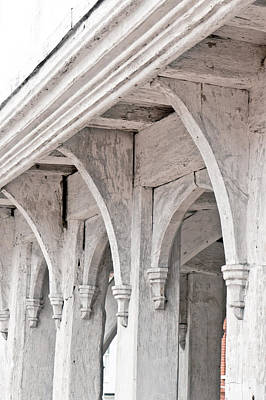 Medieval Architecture Art Print by Tom Gowanlock