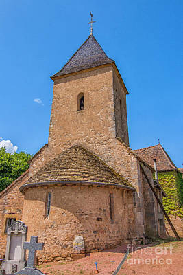 Photograph - Medieval Church by Patricia Hofmeester