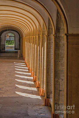 Photograph - Medieval Cloister by Patricia Hofmeester