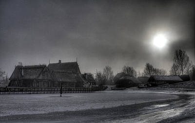 Medieval Photograph - Medieval Village  by Jan Boesen