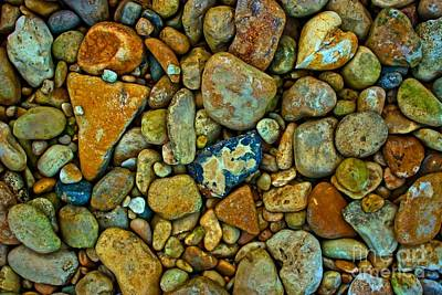 Medina Lake Photograph - River Rocks by Michael Tidwell