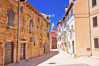 Photograph - Mediterranean Stone Street Of Vodnjan View by Brch Photography