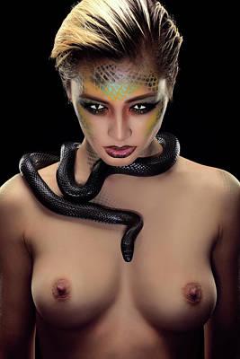 Photograph - Medusa by Gutescu Eduard