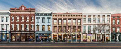 Photograph - Meeting Street - Charleston, South Carolina by Carl Amoth