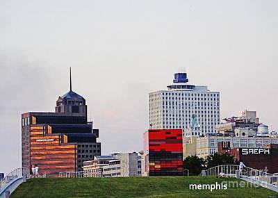 Photograph - Memphis Skyline by Lizi Beard-Ward