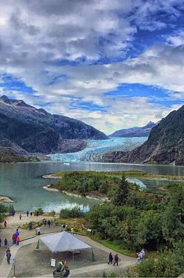 Photograph - Mendenhall Glacier by Pamela Showalter