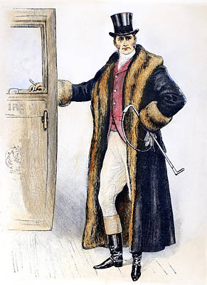 Mens Fashion, 1894 Art Print