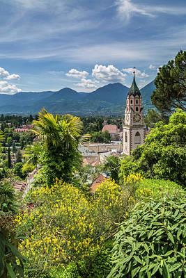 Northern Italy Photograph - Merano Church Of St Nicholas by Melanie Viola