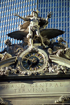 Photograph - Mercury Over Grand Central Station by Carl Purcell