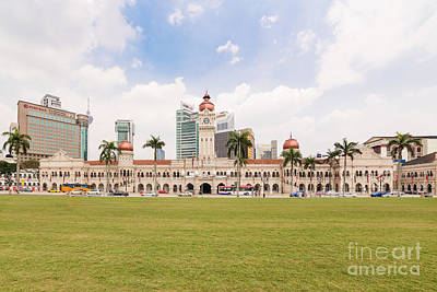 Keith Richards - Merdeka square in Kuala Lumpur by Didier Marti