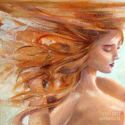 Painting - Mermaid Dream by Michael Rock