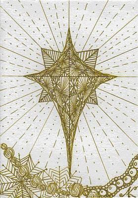 Merry Christmas Art Print by Elena Kuleshova