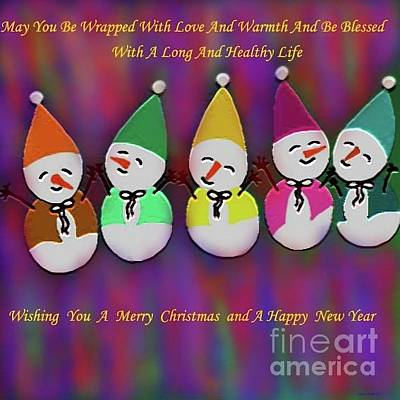 Digital Art - Merry Christmas by Latha Gokuldas Panicker