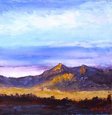 Mesa Sunset Art Print by Fred Wilson