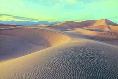 Photograph - Mesquite Sand Dunes by Jonathan Nguyen