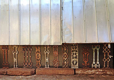 Photograph - Metal And Ironwork  by Pat Exum