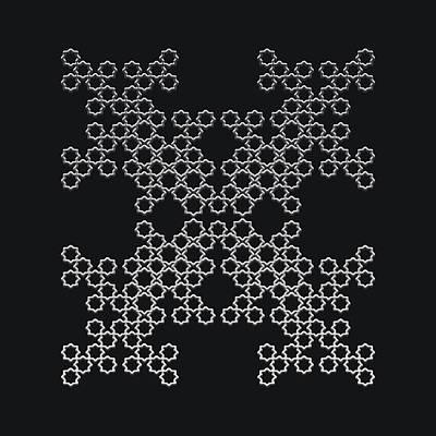 Digital Art - Metallic Lace Axxxiv by Robert Krawczyk