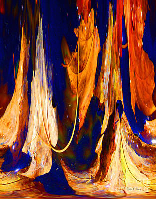 Cycles Painting - Metamorph by Diane E Berry